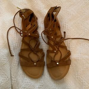 Dolce vita brown gladiator sandals, never worn.